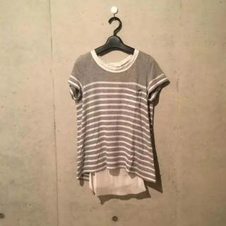 サカイラック(sacai luck)の愛ちゃん様専用サカイラック ボーダーポケットT(Tシャツ(半袖/袖なし))