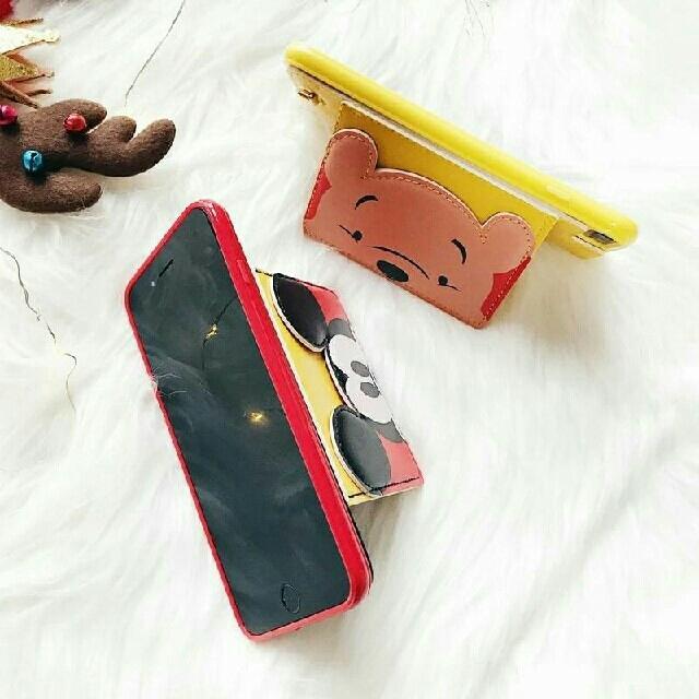 ❤iphoneⅩ❗ステッチ3Dカードホルダー付きiphoneケース スマホ/家電/カメラのスマホアクセサリー(iPhoneケース)の商品写真