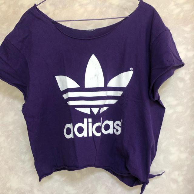 adidas(アディダス)のアディダスTシャツ レディースのトップス(Tシャツ(半袖/袖なし))の商品写真