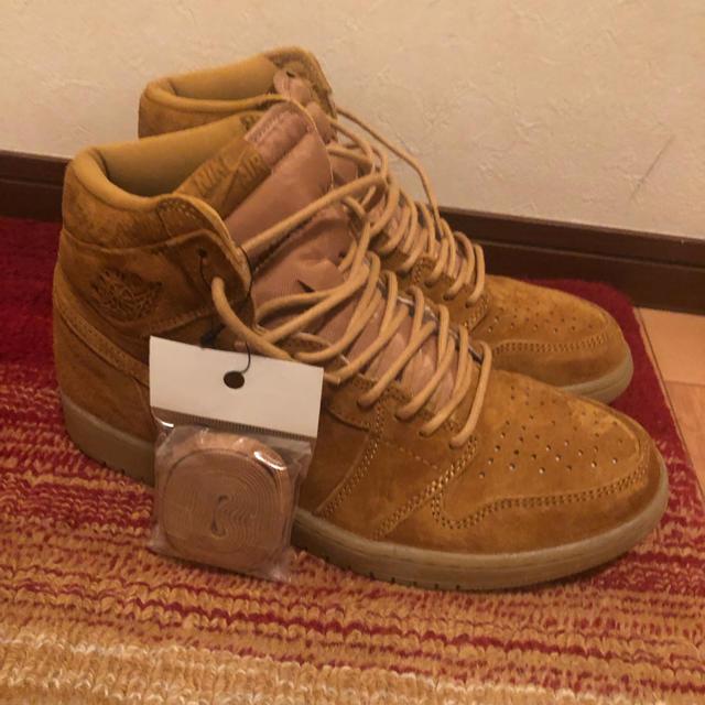 NIKE(ナイキ)のナイキ エアジョーダン 1 レトロ HIGH ウィート メンズの靴/シューズ(スニーカー)の商品写真