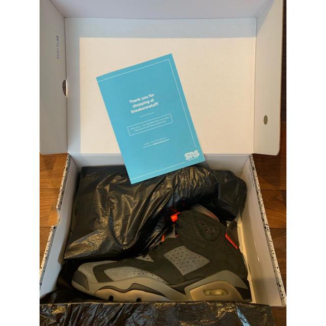 NIKE(ナイキ)のNIKE AirJordan6 retro PSG 28cmUS10 国内未発売 メンズの靴/シューズ(スニーカー)の商品写真