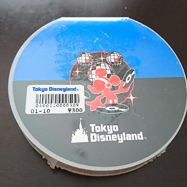 Disney(ディズニー)の【新品未開封】東京ディズニーランド レアメモ帳 エンタメ/ホビーのおもちゃ/ぬいぐるみ(キャラクターグッズ)の商品写真