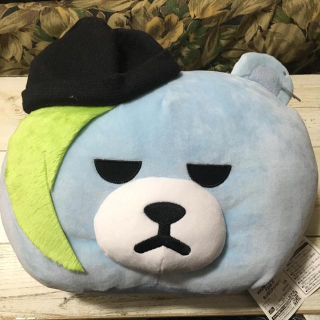 BIGBANG もっちり クッション ぬいぐるみ エンタメ/ホビーのおもちゃ/ぬいぐるみ(ぬいぐるみ)の商品写真