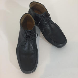 JOSS セミハイカット グレー サイズ6 1/2 紐 メンズ(ブーツ)
