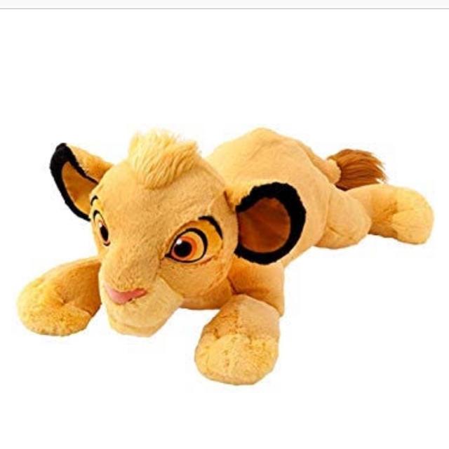 Disney(ディズニー)のUFOキャッチャー シンバぬいぐるみ エンタメ/ホビーのおもちゃ/ぬいぐるみ(ぬいぐるみ)の商品写真