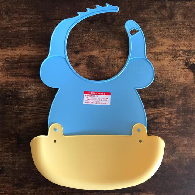Disney(ディズニー)のお食事用エプロン キッズ/ベビー/マタニティの授乳/お食事用品(お食事エプロン)の商品写真