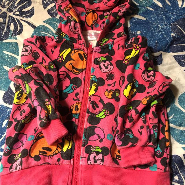 Disney(ディズニー)のディズニーパーカー キッズ/ベビー/マタニティのキッズ服 女の子用(90cm~)(ジャケット/上着)の商品写真