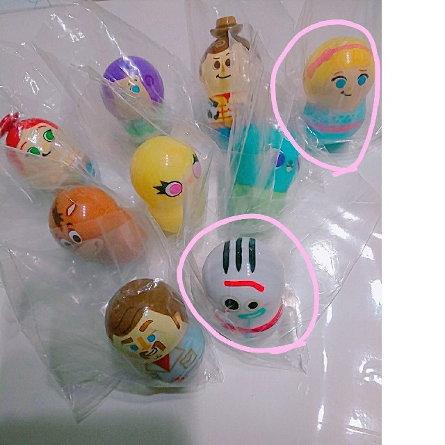Disney(ディズニー)のここまなママ様  クーナッツ トイストーリー2体 エンタメ/ホビーのおもちゃ/ぬいぐるみ(キャラクターグッズ)の商品写真