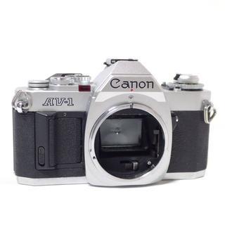 キヤノン(Canon)のD138 CANON カメラAV-1 使用説明書付 ジャンク ボディ 本体(フィルムカメラ)