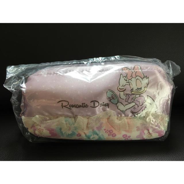 Disney(ディズニー)のデイジーダック ワイヤーポーチ レディースのファッション小物(ポーチ)の商品写真