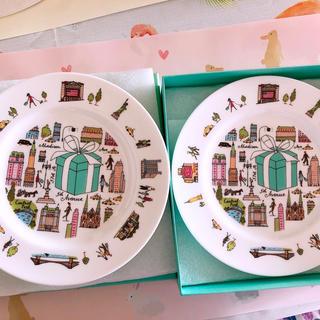 ティファニー(Tiffany & Co.)のTiffany  食器 プレート2枚(食器)