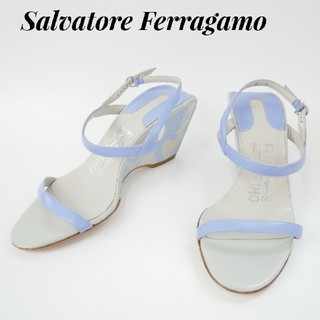 サルヴァトーレフェラガモ(Salvatore Ferragamo)のSalvatore Ferragamo  フェラガモ 4C 花柄ハイヒール(ハイヒール/パンプス)
