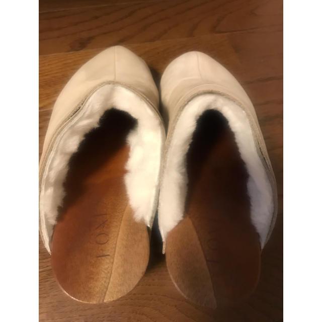 FOXEY(フォクシー)のFOXEY  フワフワムートンサボ サボ サンダル レディースの靴/シューズ(サンダル)の商品写真