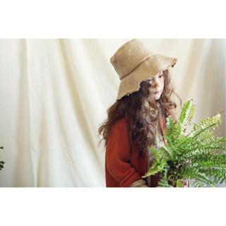 コドモビームス(こども ビームス)の韓国子供服 麦わら ハット(帽子)