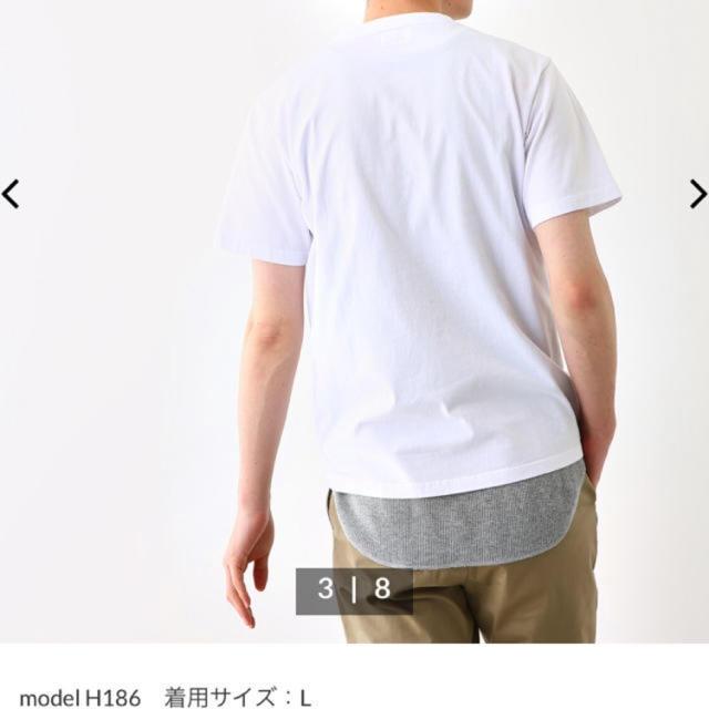RODEO CROWNS WIDE BOWL(ロデオクラウンズワイドボウル)のロデオクラウンズ Tシャツ メンズ用M ホワイト メンズのトップス(Tシャツ/カットソー(半袖/袖なし))の商品写真