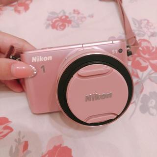 Nikon - Nikon S1 ピンク ミラーレスカメラ