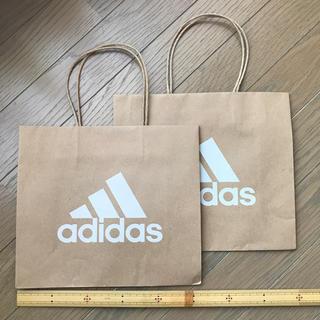 adidas - アディダス ショップ袋 2枚