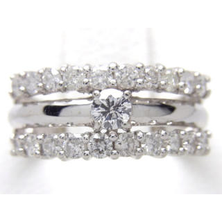 K14 ダイヤモンド 0.67ct リング*(リング(指輪))