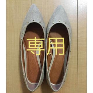 ジーユー(GU)のGU スタッズパンプス Sサイズ(ハイヒール/パンプス)
