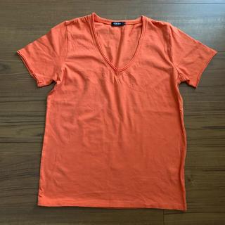 ルシェルブルー(LE CIEL BLEU)のLE CIEL BLUE  VネックコットンTシャツ(Tシャツ(半袖/袖なし))