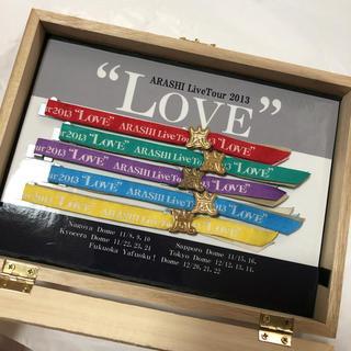 アラシ(嵐)の嵐 LOVE リボンブレス 5色セット ハンドメイド(アイドルグッズ)