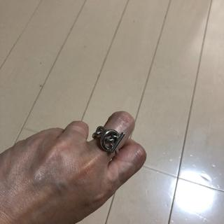ロープチェーンリング★シルバー(リング(指輪))