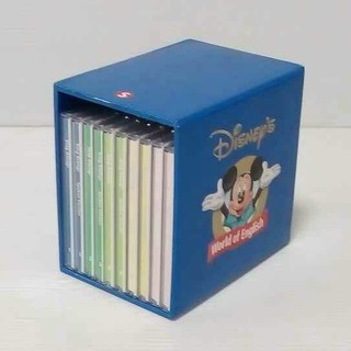 ディズニー(Disney)の【再生良好】お勧め★DWE ディズニー英語 シングアロング CD10枚(知育玩具)