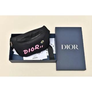 ディオール(Dior)の超人気 新作 ウエストポーチ DIOR KAWS (ボディバッグ/ウエストポーチ)