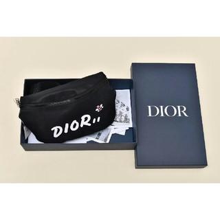 ディオール(Dior)のDIOR x KAWS ウエストポーチ ボディバッグ (ボディバッグ/ウエストポーチ)