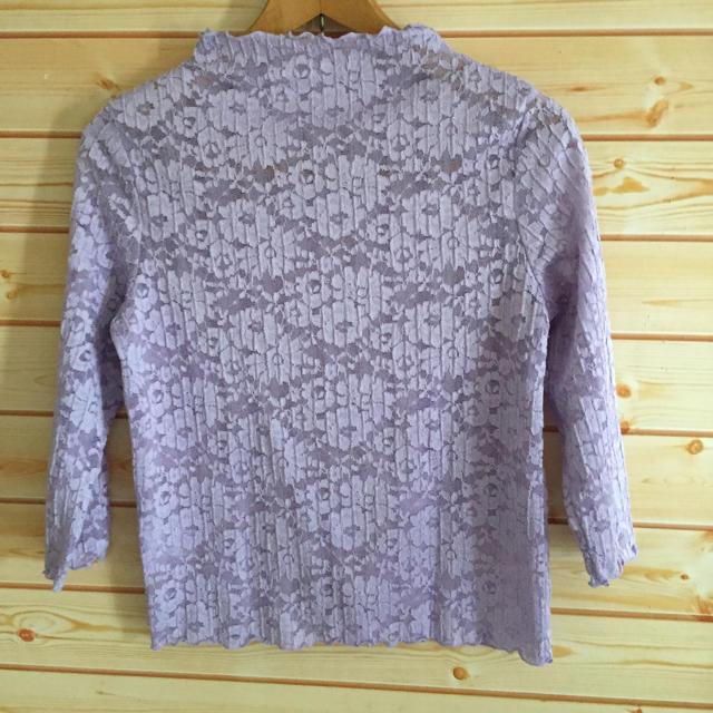 GU(ジーユー)のGU レースTシャツ レディースのトップス(Tシャツ(半袖/袖なし))の商品写真