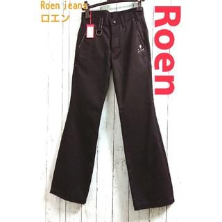 ロエン(Roen)の新品 Roen jeans ロエン黒デニム 30 W71 ROEN ジーパン(デニム/ジーンズ)