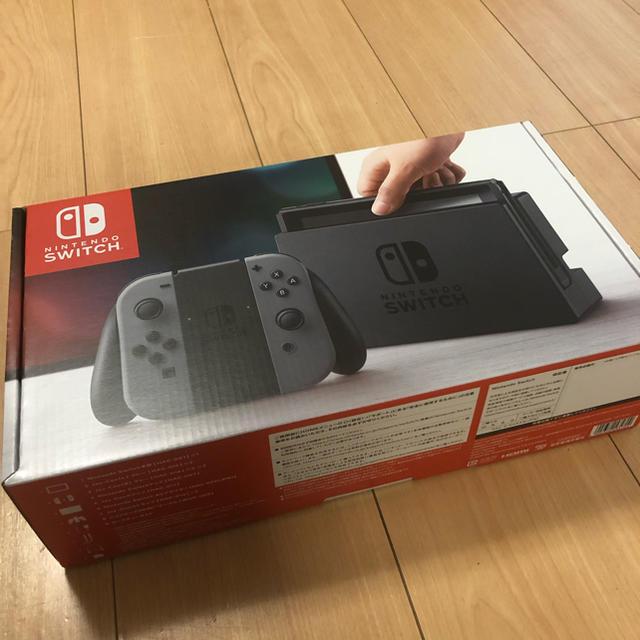 Nintendo Switch(ニンテンドースイッチ)の新品未使用 ニンテンドースイッチ 本体 グレー エンタメ/ホビーのゲームソフト/ゲーム機本体(家庭用ゲーム機本体)の商品写真