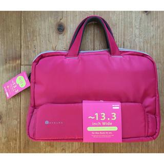 エレコム(ELECOM)のエレコム ビジネスバッグ 別持ちバッグ 13.3インチ対応 ピンク(ビジネスバッグ)