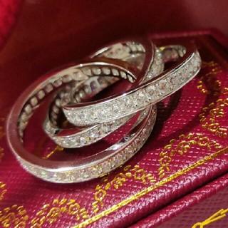 カルティエ(Cartier)の正規品Cartier (リング)指輪 シルバー Au750 プレゼント (リング(指輪))