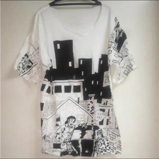 ステューシー(STUSSY)のSTUSSY×REALDEAL ロングT(Tシャツ/カットソー(七分/長袖))