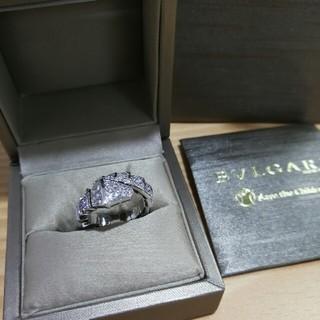 ブルガリ(BVLGARI)のBvlgariブルガリ 指輪 ホワイトゴールド(リング(指輪))