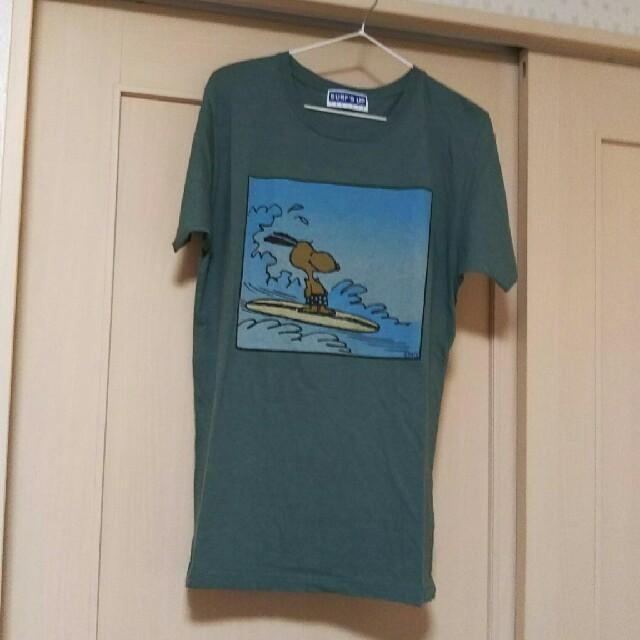 SNOOPY(スヌーピー)のPEANUTS  SNOOPY  Tシャツ   レディースのトップス(Tシャツ(半袖/袖なし))の商品写真