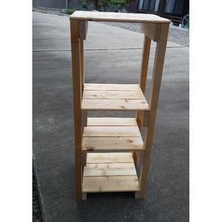 天然木の棚(お好みのサイズで製作します)(リビング収納)
