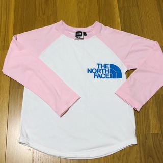 THE NORTH FACE - ザノースフェイス  ラグラン長袖Tシャツ 110