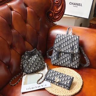 Dior - 人気 新品 Dior  3点 リュック  バックパック ショルダーバッグ