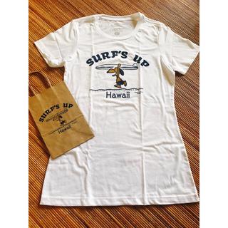 スヌーピー(SNOOPY)の新品  ハワイ ホノルル 日焼けスヌーピー Tシャツ S(Tシャツ(半袖/袖なし))