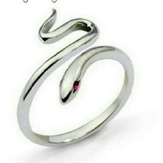 蛇 シルバーリング(リング(指輪))