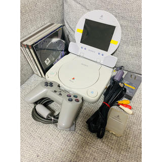 PlayStation - PSone COMBO + ソフト5本 セット