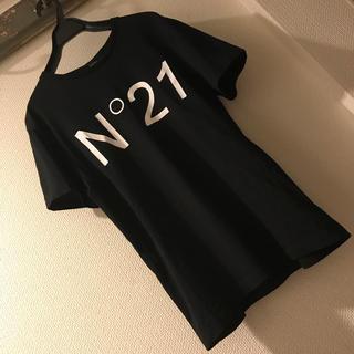 ヌメロヴェントゥーノ(N°21)の美品♥️N°21♥️ロゴTシャツ♥️(Tシャツ(半袖/袖なし))
