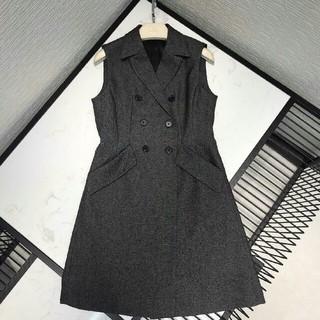 ディオール(Dior)の2019ss秋  Dior ディオール    レディース ドレス 袖無し  (ひざ丈ワンピース)