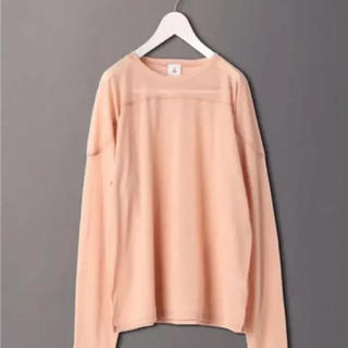 BEAUTY&YOUTH UNITED ARROWS - 6(ROKU)SHEER LOCK LONG SLEEVE PULLOVER
