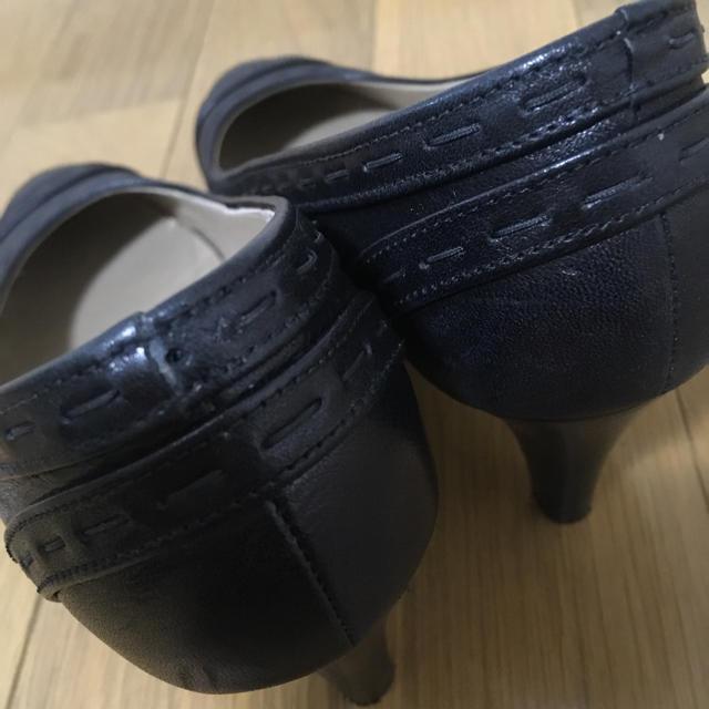 GINZA Kanematsu(ギンザカネマツ)の黒 パンプス GINZA KANEMATSU レディースの靴/シューズ(ハイヒール/パンプス)の商品写真