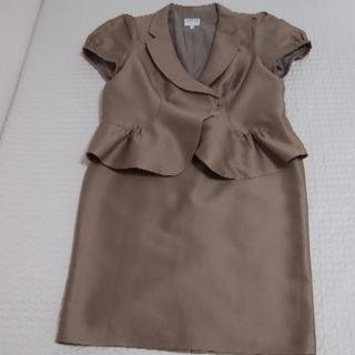 アルマーニ コレツィオーニ(ARMANI COLLEZIONI)の大きいサイズ アルマーニコレツィオーニ 半袖ベージュスーツ 未使用品(スーツ)