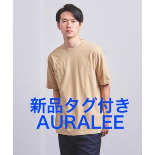 AURALEE オーラリー TWIST COTTON CASHMERE Tシャツ