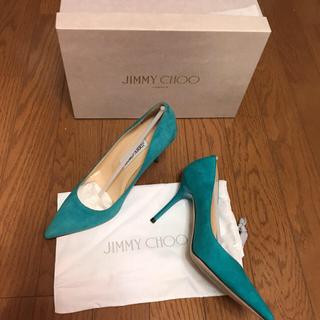 ジミーチュウ(JIMMY CHOO)のジミーチュウ新品、未使用ポインテットパンプス(ハイヒール/パンプス)